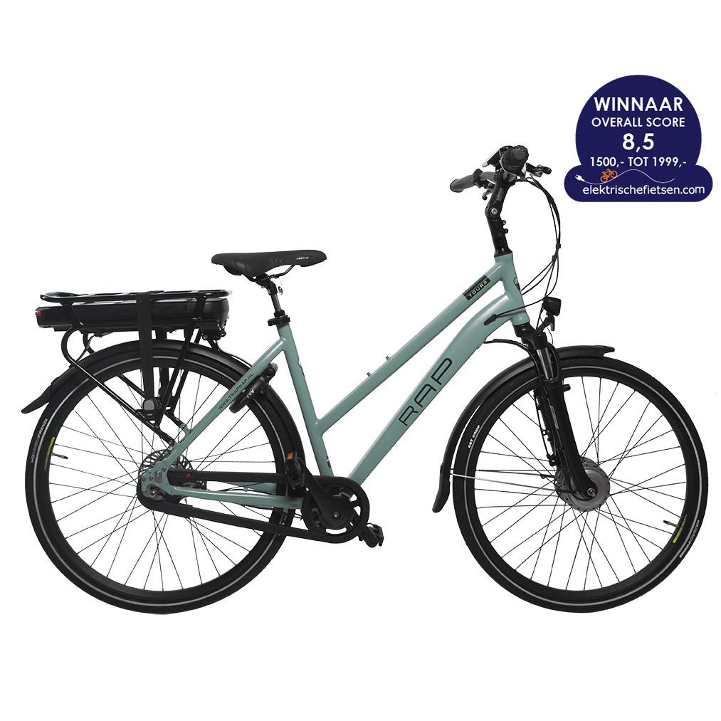 hybride elektrische fiets heren dames rap e bike tour 8. Black Bedroom Furniture Sets. Home Design Ideas